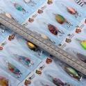hameçon 7 pcs mélanger les couleurs 2.8 cm 2.5 g de pêche cuillère leurre