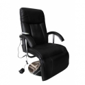 fauteuil de massage et de relaxation électrique noir
