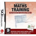 jeu maths training nintendo ds
