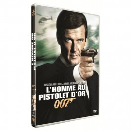 dvd l'homme au pistolet d'or